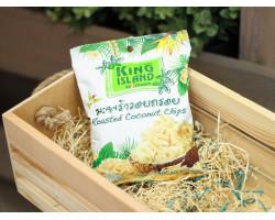 """Кокосовые чипсы  ™ """"KING ISLAND"""",40 гр."""