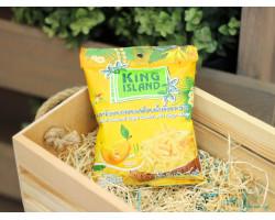 """Кокосовые чипсы  ™ """"KING ISLAND"""" с манго ,40 гр."""