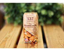 """Молоко ореховое ™ """"Degrees"""" миндальное с нектаром кокосовых соцветий,180 мл."""