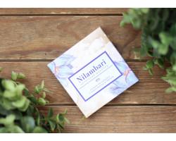 """Шоколад ™ """"Nilambari"""" белый с чаем матча и мятой ,65 гр."""