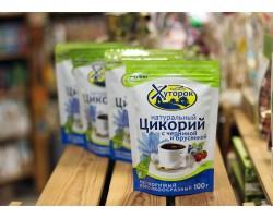 """Цикорий """"Бабушкин Хуторок""""  с Черникой и Брусникой  100 г."""