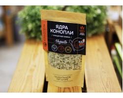 """Семена конопли ™ """"Конопель""""  очищенные( ЯДРА),150 гр."""