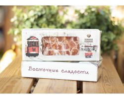 "Лукум-фитиль ™ ""Sunduk Funduk"" с ароматом апельсина и арахисом, 200гр"