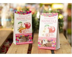 "Мармелад ™ ""Живые Снеки"" яблочный 90 гр"