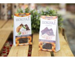 """Шоколад ™ """"Живые Снеки"""" с кунжутом 100 гр"""