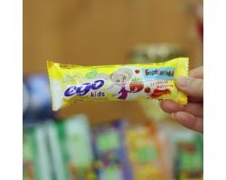 """Батончик злаковый EGO KIDS """"Клубничный десерт""""25 гр."""