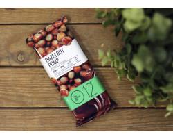 """Вафельный протеиновый батончик ™ """"O12"""" фундук+шоколад 65 гр."""