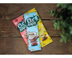 """Батончики ™ """"Ол Лайт"""" фруктово-ореховый шоколадный с кокосом, 30 гр."""
