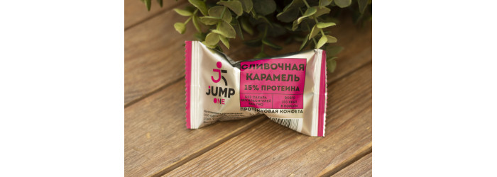 """Конфеты без сахара™ """"Energy Ball JUMP"""" Сливочная  карамель 30 г"""