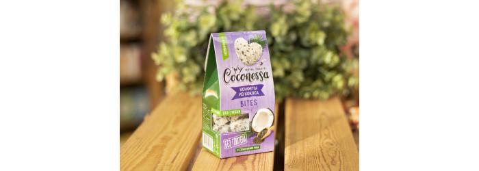 """Конфеты кокосовые™ """"Coconessa"""" """"Семена Чиа"""" 90 гр."""