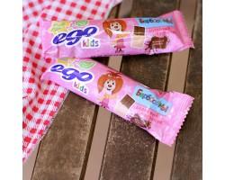 """Батончик злаковый EGO KIDS """"Молочный шоколад """"25 гр."""