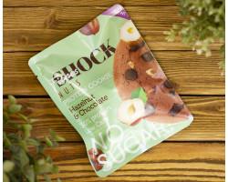 "Печенье протеиновое NUT ™ ""Shoсk Fitnes"" Hazelnut Chocolate ( Фундук- Шоколад) 40 гр"
