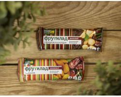 """Финиковый батончик ™ """"Фрутилад"""" с фундуком и шоколадом,42 гр."""
