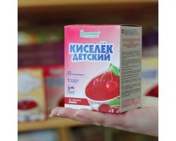 """Кисель """"ВАЛЕТЕК"""" с витаминами ВИШНЯ (25гр.-8 шт )"""