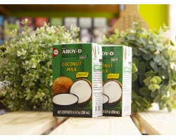 "Кокосовое молоко ™ ""AROY -D"" 250 мл.коробка"