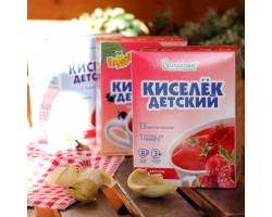 """Кисель """"ВАЛЕТЕК"""" с витаминами МАЛИНА (25гр. - 8 шт)"""