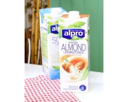 Напиток миндальный без сахара с кальцием и витаминами ALPRO , 1 л