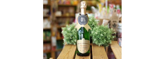 Шампанское безалкогольное Мускатное 0,75л.