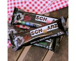 """Батончик протеиновый SCHWARZ 33%""""Шоколад"""" с выс.содерж.протеина 50гр."""