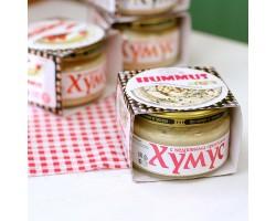 """Закуска""""Тайны Востока-хумус""""с кедровыми орешками, 200 гр"""
