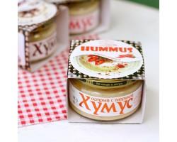 """Закуска""""Тайны Востока-хумус""""Острая с паприкой, 200 гр"""