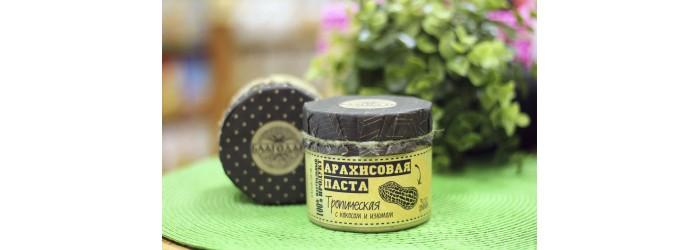 Арахисовая паста тропическая 300 гр